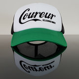 coureur cap pet groen