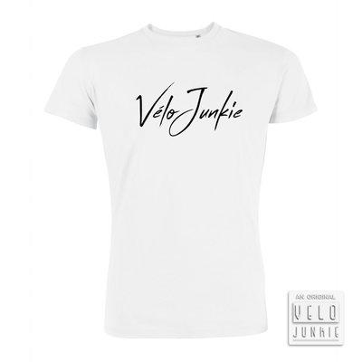 Velojunkie White T-shirt