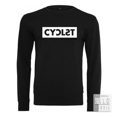 CYCLST SWEATER BLACK WHITE