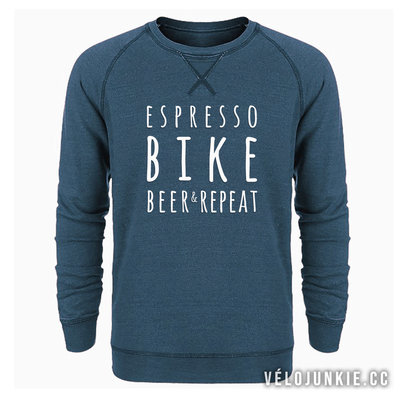 ESPRESSO BIKE BEER & REPEAT SWEATER