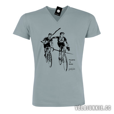 FAUSTO & GINO V-neck T-shirt